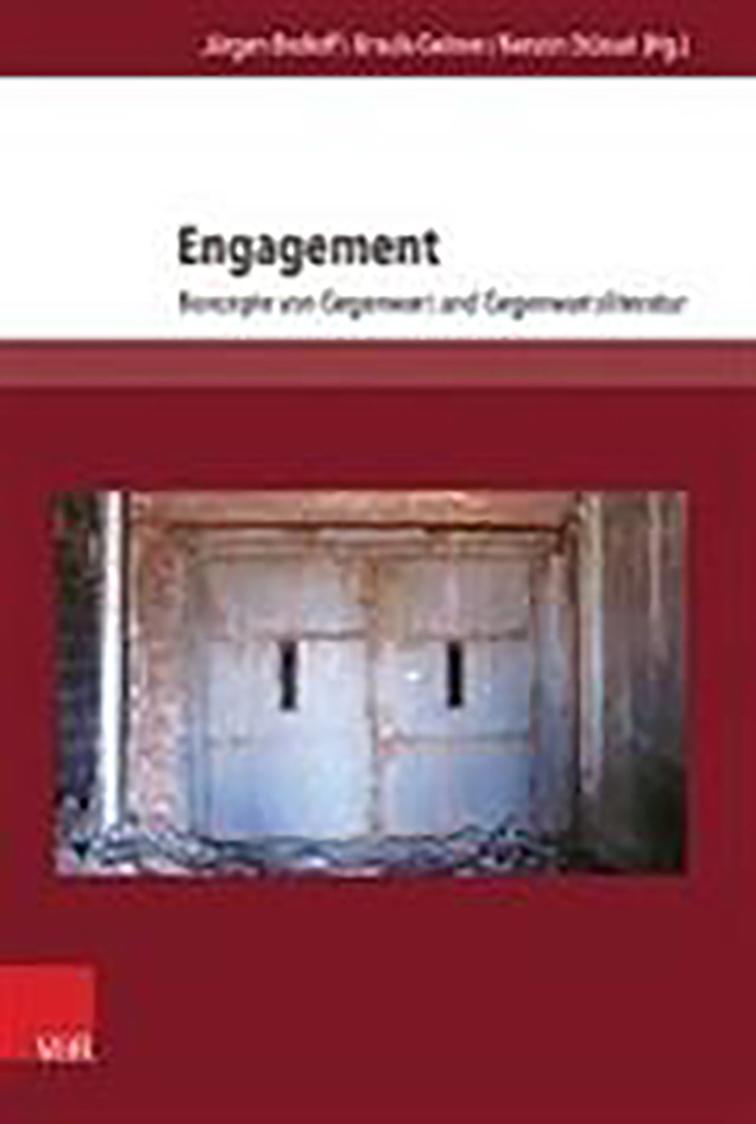 Brokoff, Jürgen / Ursula Geitner / Kerstin Stüssel (Hgg.): Engagement. Konzepte von Gegenwart und Gegenwartsliteratur.  Göttingen: V&R, 2016 (= Literatur- und Mediengeschichte der Moderne, Bd. 1).