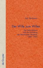 Stöckmann, Ingo: Der Wille zum Willen. Der Naturalismus und die Gründung der literarischen Moderne 1880–1900. Berlin / New York: de Gruyter, 2009 (= Quellen und Forschungen; 52).