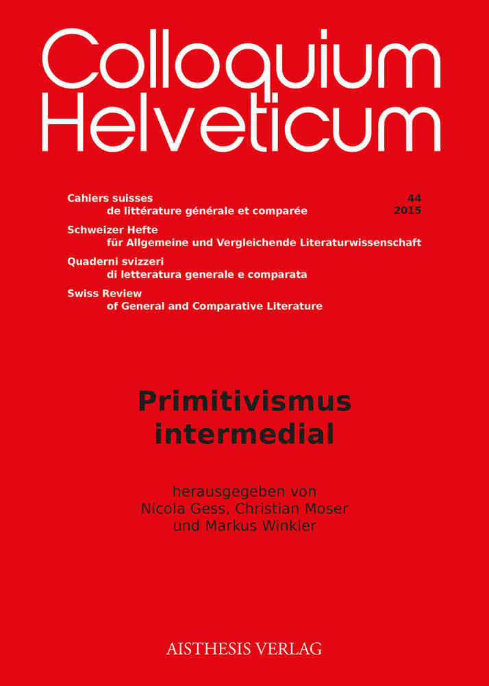 Cover Primitivismus Intermedial