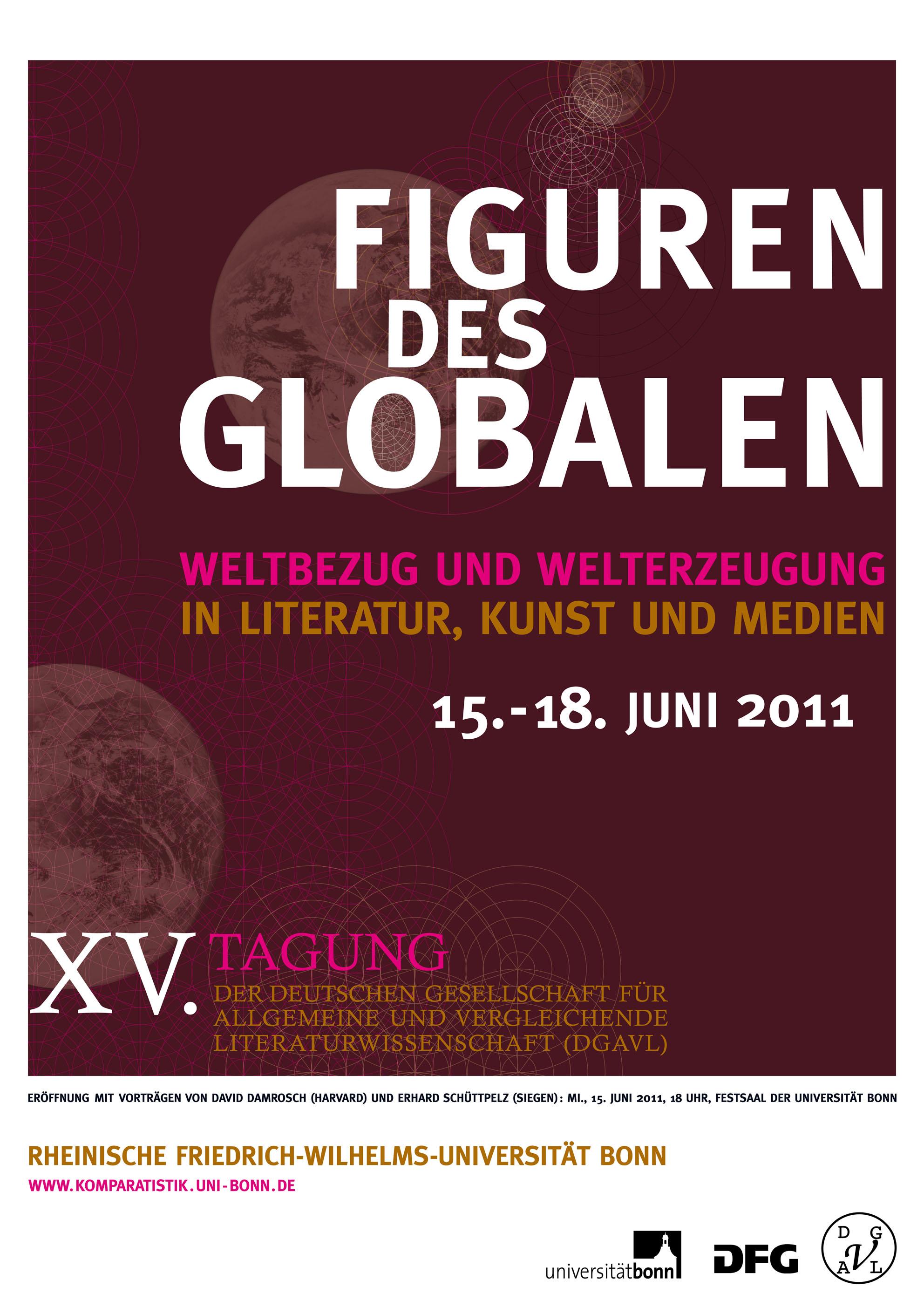"""Tagung """"Figuren des Globalen"""""""